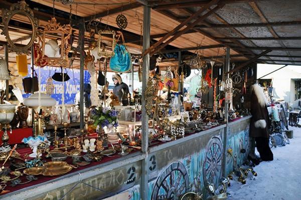 Блошиный рынок «Левша» в «Новоподрезково»