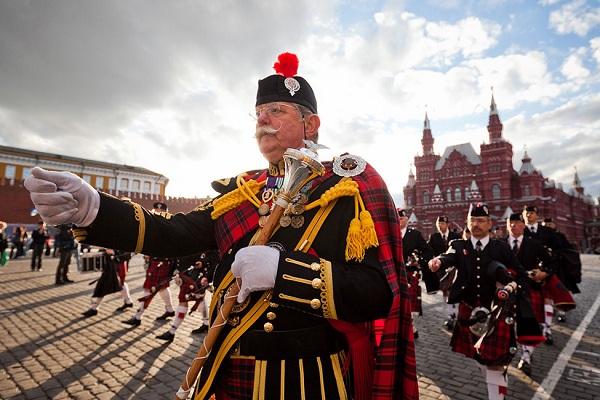 Международный военно-музыкальный фестиваль «Спасская башня – 2017» на Красной площади