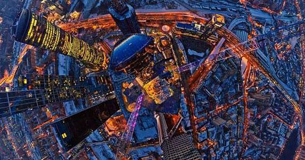 Экскурсия на крышу башни ОКО на высоту 354 метра от компании Moscow City of Love!