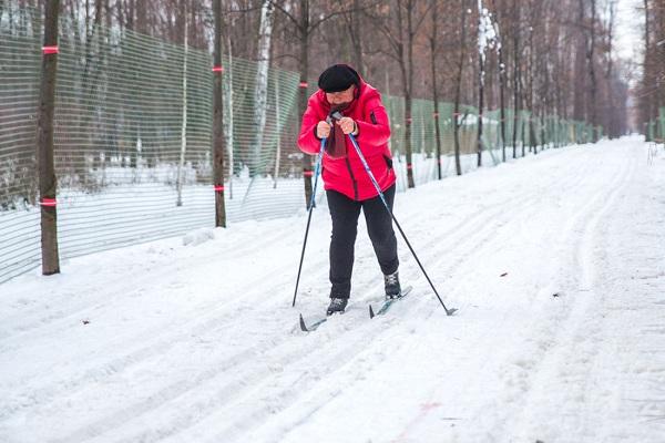 Всепогодная лыжная трасса в парке «Сокольники». Сезон 2016/2017