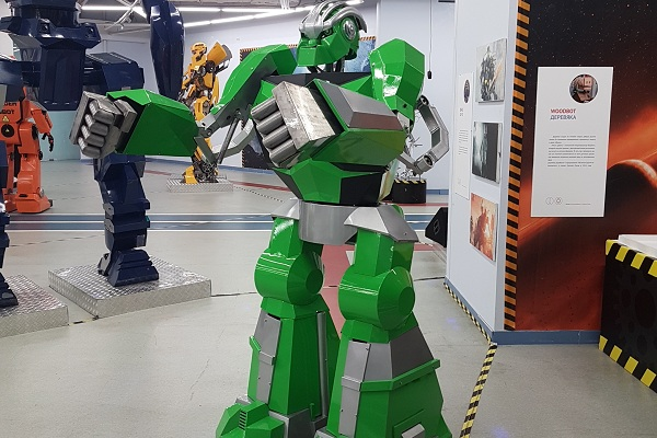 Выставка роботов в нижнем