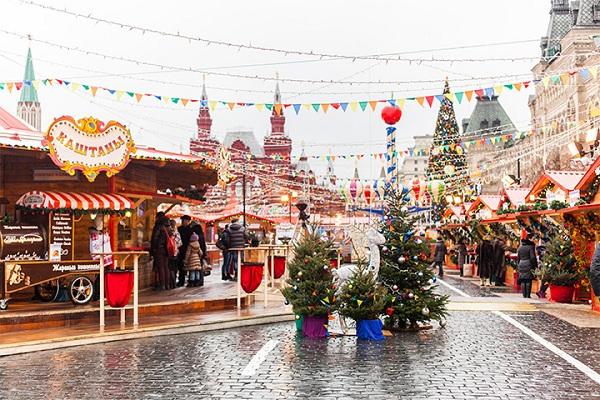 Рождественская «ГУМ-Ярмарка»