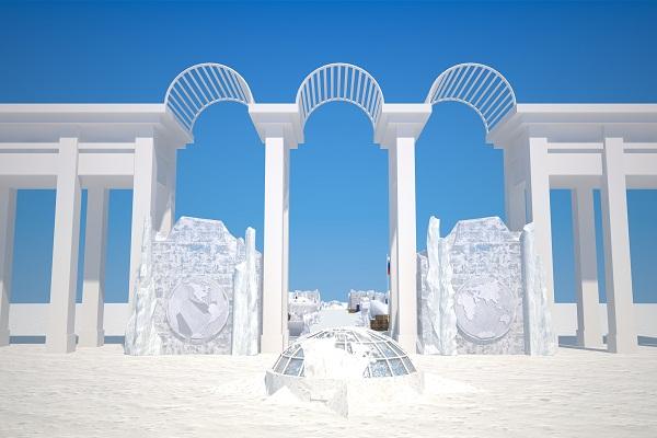 Выставка ледяных скульптур «Полярная звезда»