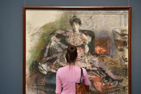 Выставка «Н.И. Забела-Врубель в творчестве М. Врубеля»