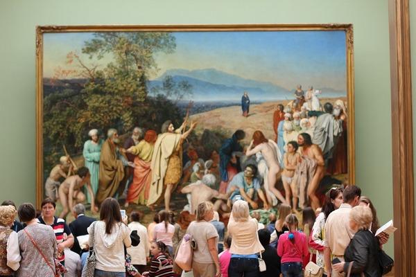 Экскурсия «Шедевры Третьяковской галереи» от компании «Любимый город»