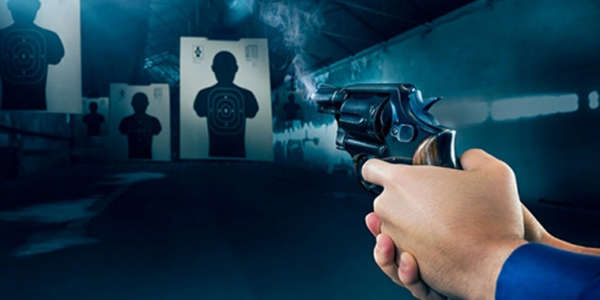 До 200 выстрелов в пневматическом тире с выбором сценария для одного или более человек от тира «Спектр»