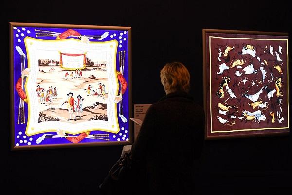Выставка «Шелковый лабиринт»
