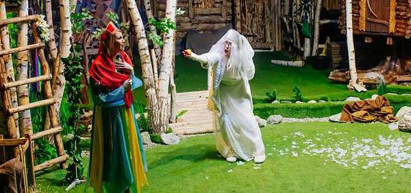 Билет надетский спектакль сживотными «Сказочная чехарда– сказ отом, как звери весну встречали» оттеатра «Рога икопыта»