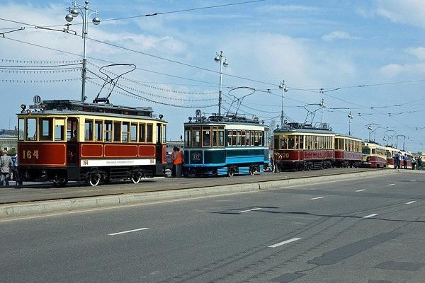 Фестиваль «Парад трамваев»