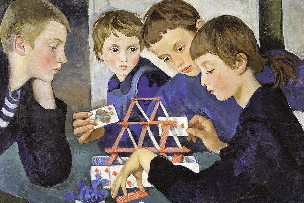 Выставка произведений Зинаиды Серебряковой