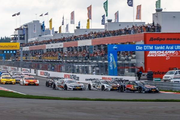 Гонки DTM на Moscow Raceway