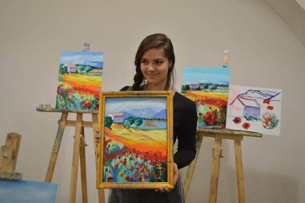 «Осенний парк» – мастер-класс по живописи маслом
