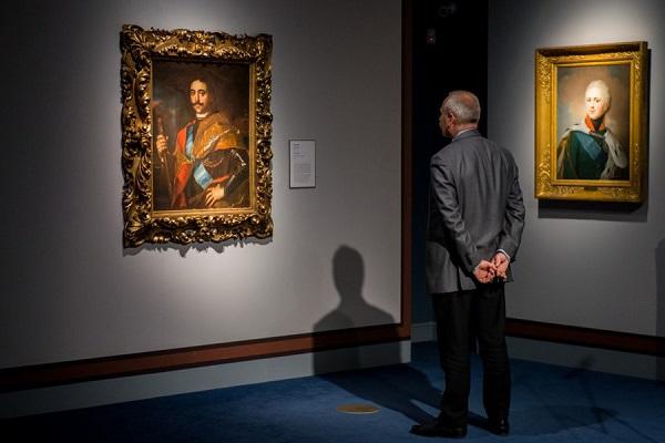 Выставка картин «История в лицах. Шедевры портретной живописи XVIII-XIX веков»
