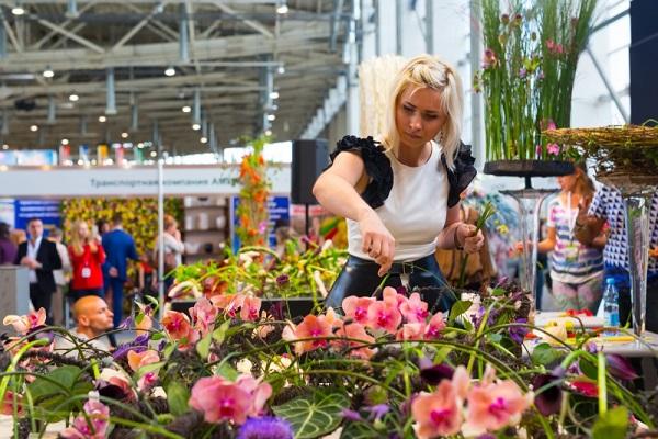 Выставка цветы 2017 москва