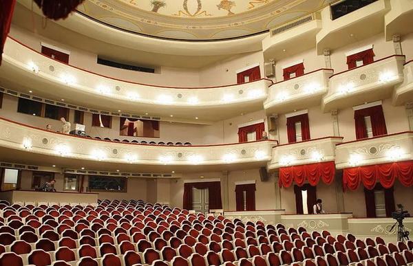 Малый театр в Москве
