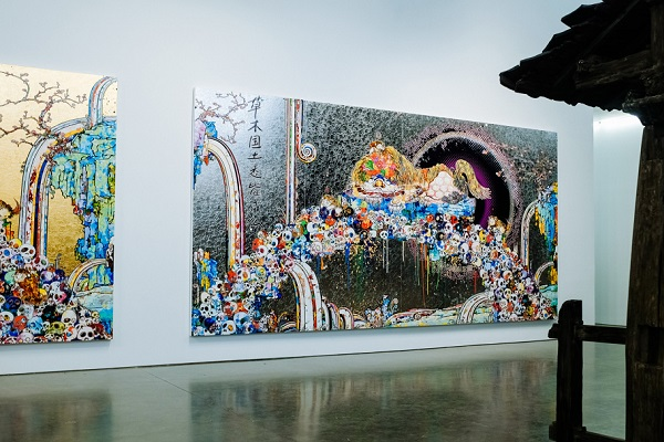 Выставка работ Такаси Мураками «Будет ласковый дождь»