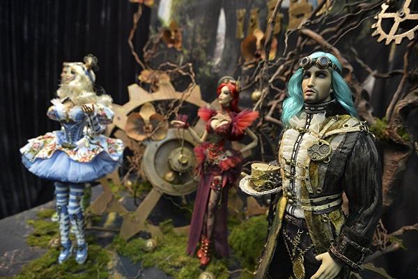 13-я Международная выставка-ярмарка «Салон Авторской Куклы – 2017»