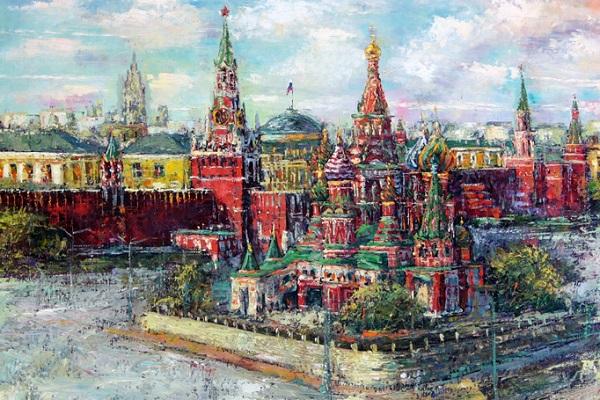 Выставка московских художников к 870-летию столицы «Виват, Москва!»