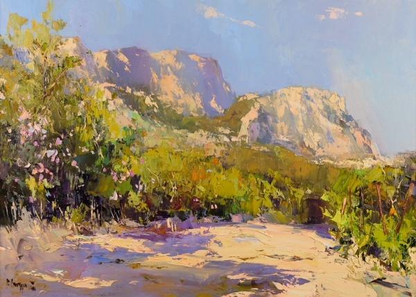Выставка работ Рустема Стахурского «Все краски Крыма»
