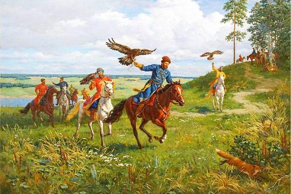 Царь написал подробное руководство по соколиной охоте 115