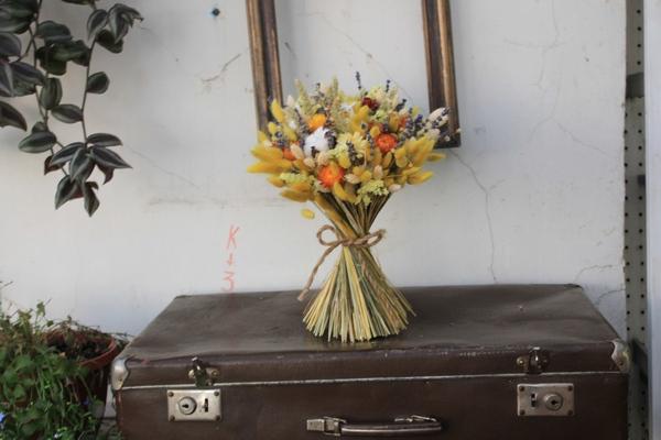 Мастер-класс по созданию букета из сухих цветов и растений