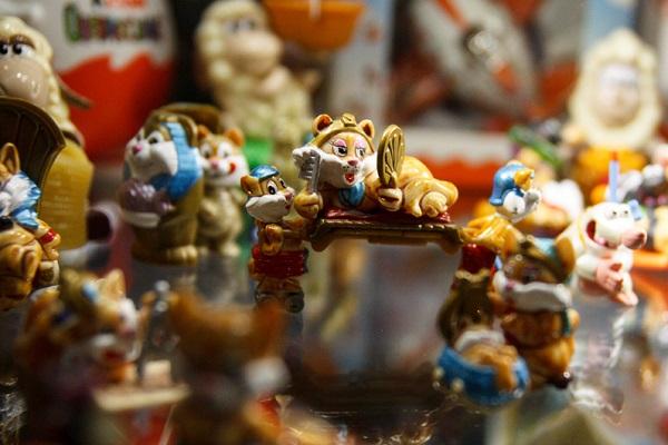 Выставка игрушек «Kinder Surprise» в Кидзании