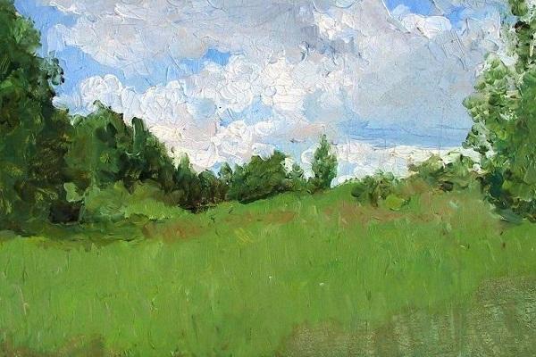 Выставка картин «Русский пейзаж из собрания Астраханской картинной галереи»
