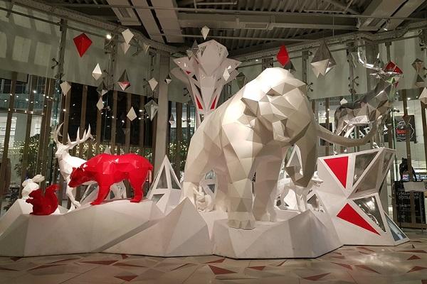 Выставка бумажных скульптур «Многогранный мир»
