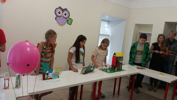 Зимний лагерь науки для детей и школьников в Москве. Технологическая смена.
