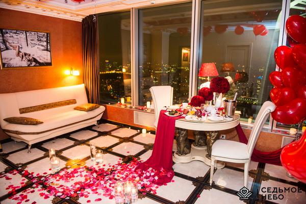 Незабываемое свидание на 55 этаже башни Москва-Сити