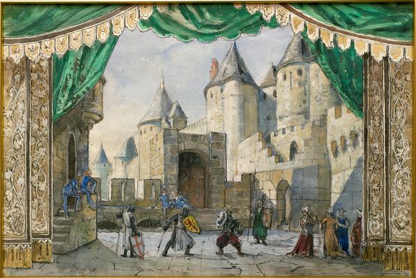Выставка «Театр Александра Бенуа и художники современности»