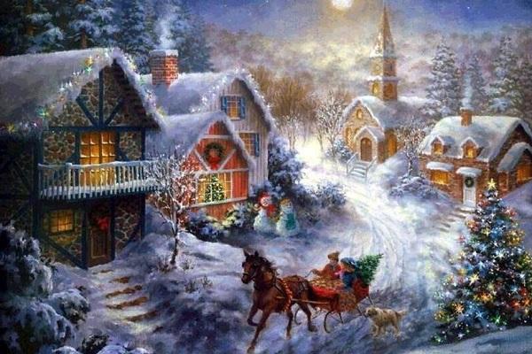 Выставка «Зимние открытки»