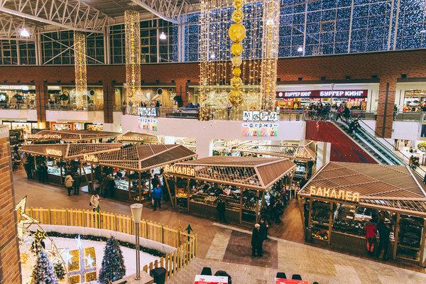Предновогодняя и рождественская  ярмарка на фермерском рынке LavkaLavka в МЕГА Химки