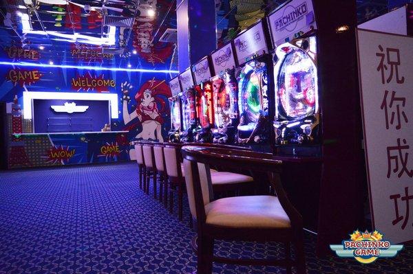 Впервые в Москве – Японский игровой центр «Pachinkogame»