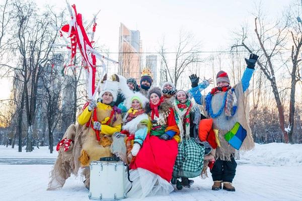 Рождество в парках Москвы