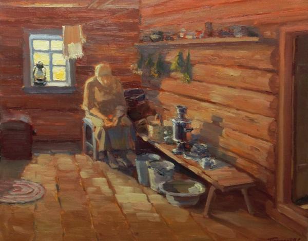 Художественная выставка «Пейзажи русской деревни» на Городской ферме