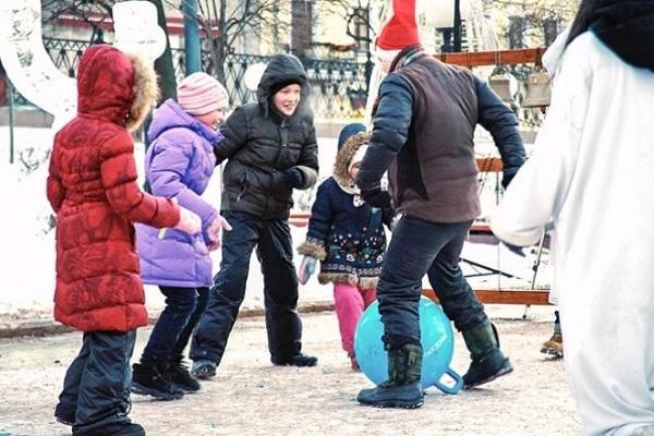 Спортивные мероприятия на фестивале «Путешествие в Рождество»