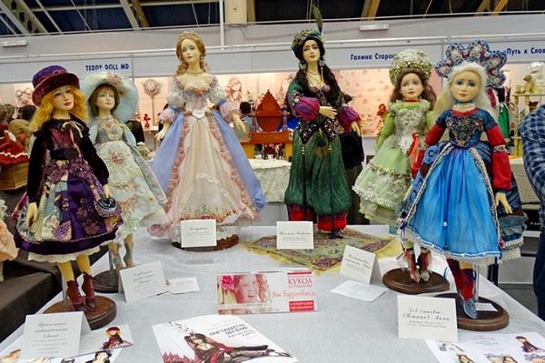 Международная выставка «Весенний Бал кукол»