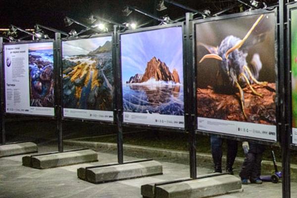 Фотовыставка под открытым небом «От жарких степей до ледяных морей»