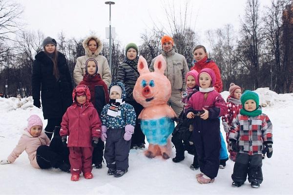 Школа «Снежных искусств» в Перовском парке