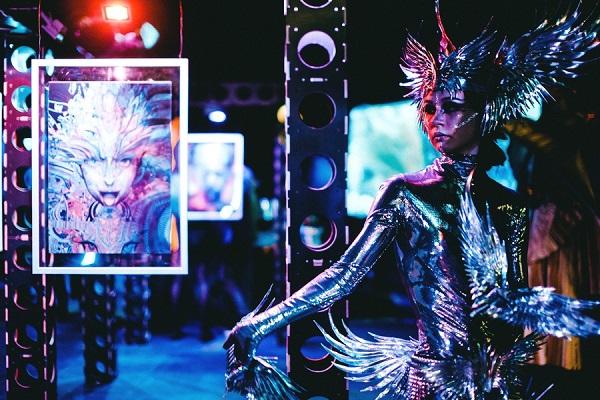 Иммерсивная выставка цифрового искусства «Самскара»
