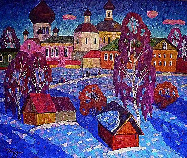 Выставка Игоря Бердышева в Галерее ЗНУИ
