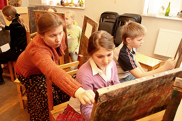 День открытых дверей в Школе акварели Сергея Андрияки