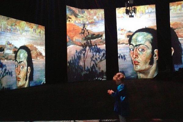 Мультимедийная выставка «Дали – живые сны»