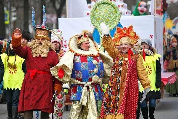 Фестиваль «Царская Масленица» на Манежной площади