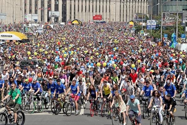 Большой Московский велопарад