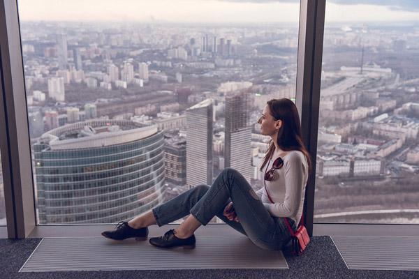фото панорама москва сити