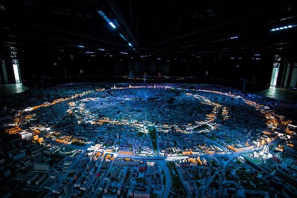 Светотехническое шоу «Архитектурные стили Москвы»