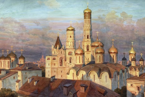 Юбилейная выставка Сергея Андрияки в Царицыно