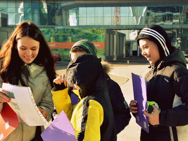 Москва-Сити. Экскурсия-квест для детей от 10 до 14 лет. Групповая экскурсия с заданиями и призами на вершине небоскреба